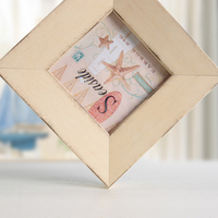 Seaside Series Vintage Photo Frame Four Sizes 4 6 7 10 Inch Wood Frames Collage Frames