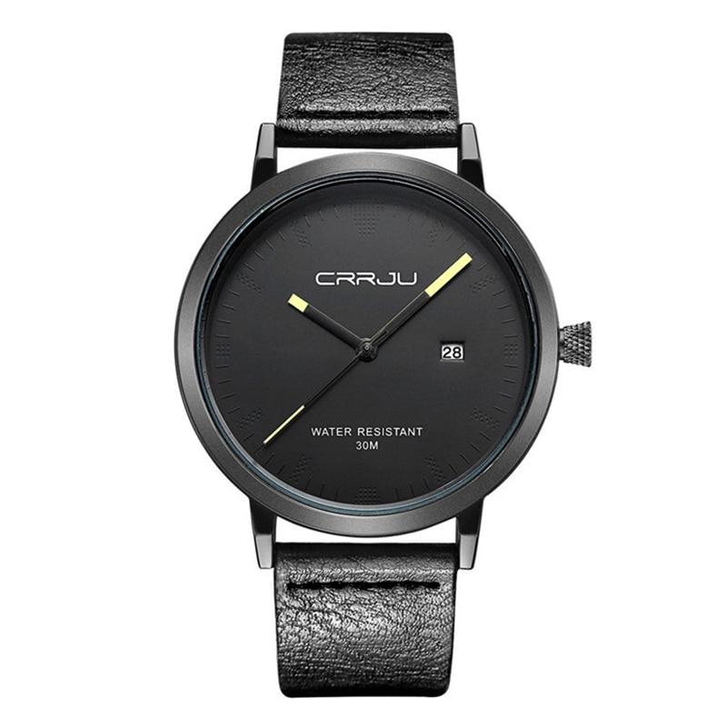 цена на Fashion Casual Quartz Wrist Watch Men Simple Male Wristwatch Clock Relogio Masculino Hodinky Ceasuri Black White Minimalist 36