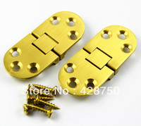 Solid Brass Hinge Round Hinge 2 3 4 X 1 3 16 With Screws