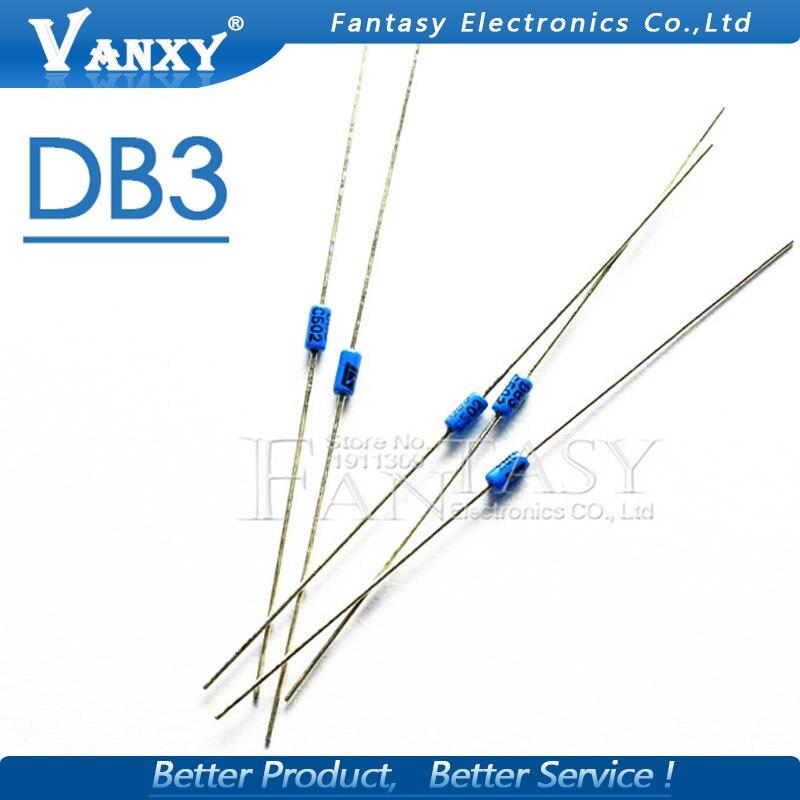50PCS DB3 DB-3 Diac Trigger Diodes DO-35 DO-204AH