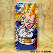 Dragon Ball Z design hard clear Case Cover for Apple iPhone 7 7Plus 6 6s Plus SE 5 5s Phone Case