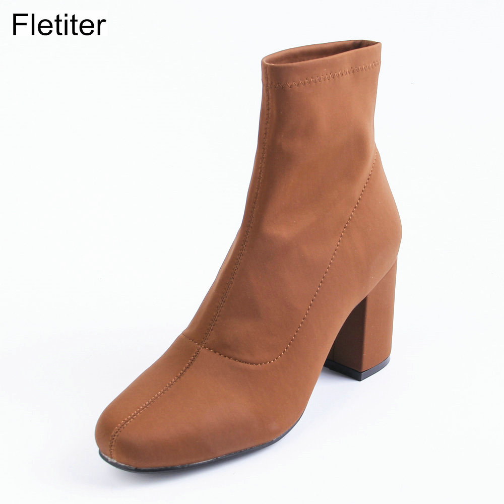 Fletiter Clearance Brand shoes women EUR size 37 Ankle Boots women