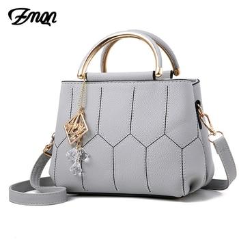 e2824cc7a195 ZMQN сумки через плечо для Для женщин сумка 2019 модные сумки на плечо, маленькие  Сумки дамы Bolsa Feminina кристалл дешевые женские сумки A540
