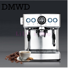 mini portable household  1150W semi-Espresso Automatic Multifunctional Coffee Maker Cafe Machine Smarthome Steam EU US plug