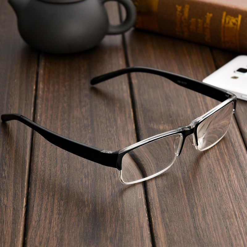 Классические Легкие квадратные очки для чтения, мужские и женские очки с линзами из смолы, дальнозоркие очки с + 1,0 + 1,5 + 2,0 + 2,5 + 3,0 + 3,5 + 4,0
