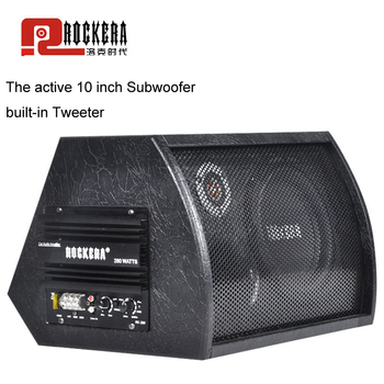 Universal 10 Inch Car Subwoofer Max 400W HIFI Active Sub woofer Strong Bass Auto Audio Sound Home Woofer Speaker With Amplifier subwoofer