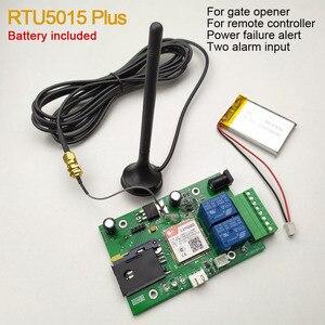 Image 1 - Rtu5015 plus gsm placa remota com duas entradas de alarme e uma saída de relé e controle sms bateria para desligar o alarme