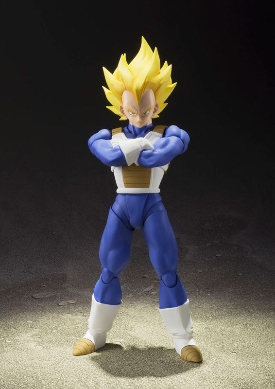 Dragon Ball Z SH Figuarts Action Figure – Super Saiyan Vegeta