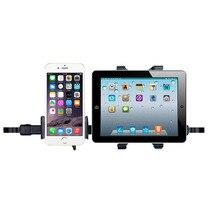 Универсальная стойка 360 градусов автомобильное заднее сиденье подголовник крепление подставка кронштейн 2 в 1 Автомобильный планшет ПК телефон для iPad держатель планшета
