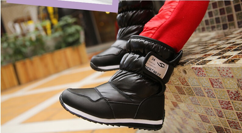 -30 degree Russia winter warm baby shoes , fashion Waterproof children's shoes , girls boys boots perfect for kids accessories 15