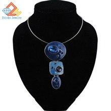 Очаровательное модное ожерелье, 2 цвета, цинковый сплав, эмаль, сексуальная подвеска, ожерелье с веревочной цепью для женщин, косплей, ювелирное изделие