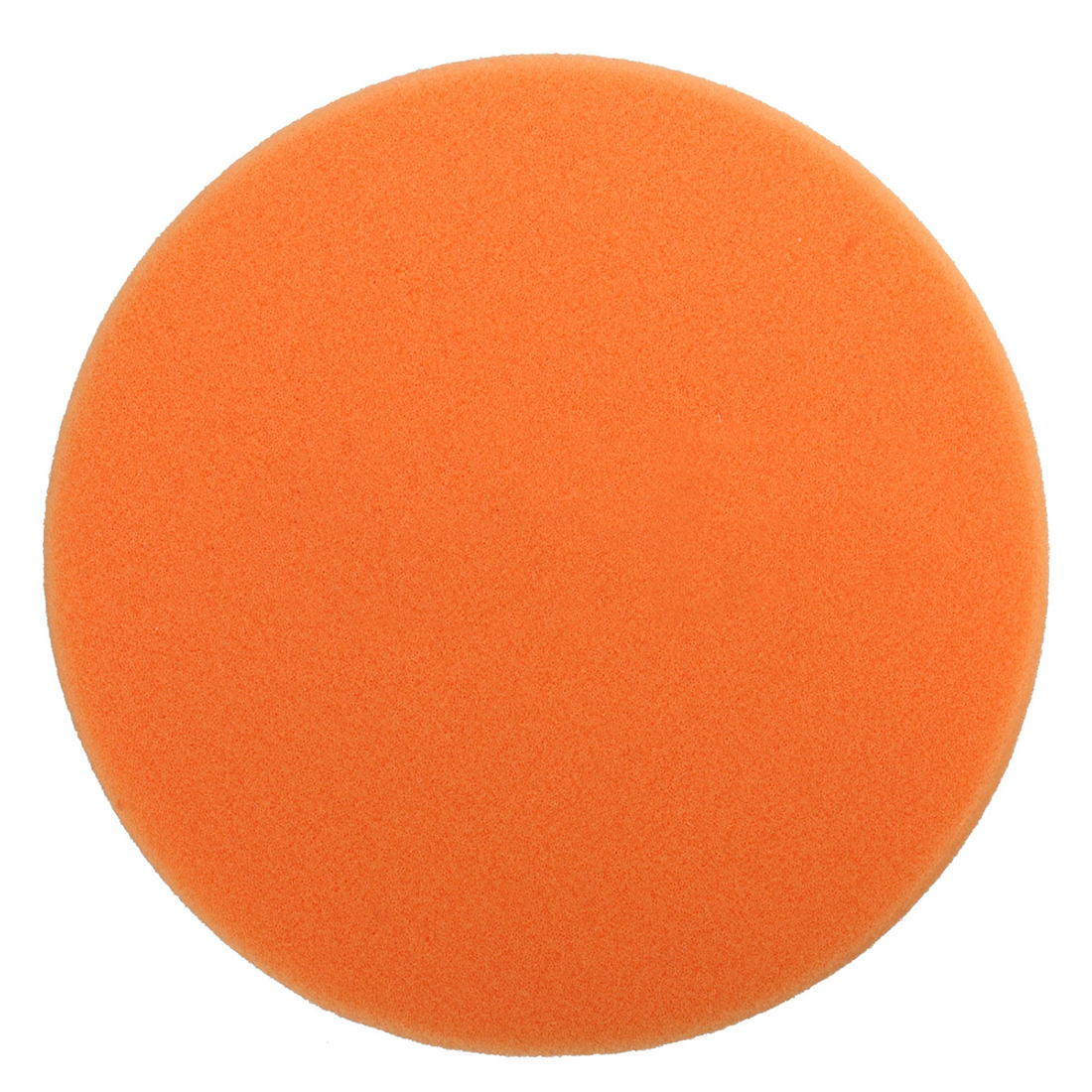 6 Inch 150mm Soft Flat Sponge Buffer Polishing Pad Kit For Auto Car Polisher Color:Orange