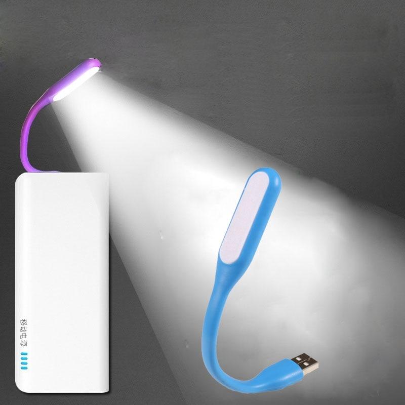 Novelty Mini USB LED Book Lights Night Lights Bright Reading Lamps Kids Children Gift Power Bank Laptop Notebook PC