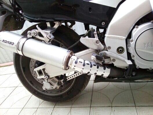 Frames & Fittings Motorcycle Accessories Exhaust Muffler Pipe Leg Protector Heat Shield Cover For Kawasaki Ktm Yamaha Honda Bmw Ducati Dirt Covers & Ornamental Mouldings