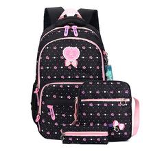 Druk dzieci plecaki torby szkolne dla dziewcząt nastolatki plecaki dla dzieci ortopedia plecaki szkolne plecak Mochila Infantil tanie tanio 45cm 0 7kg Animal prints school bags for girls Dziewczyny 30cm 13cm canvas Nylon ZUOKEWEI zipper schoolbag school backpack