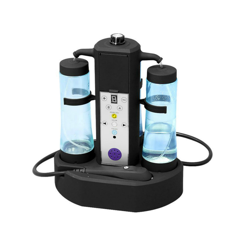 2019 New Arrival !!Hydro Mini Beauty Equipment Single Handle ABS Suction Head Hydrofacial  Machine For Spa Use