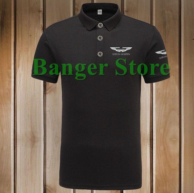 Aliexpresscom Buy Polo Cotton Aston Martin Car Logo Polo Shirt - Aston martin shirt