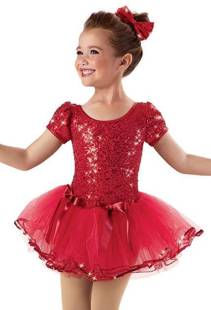 Red Leotard Dress