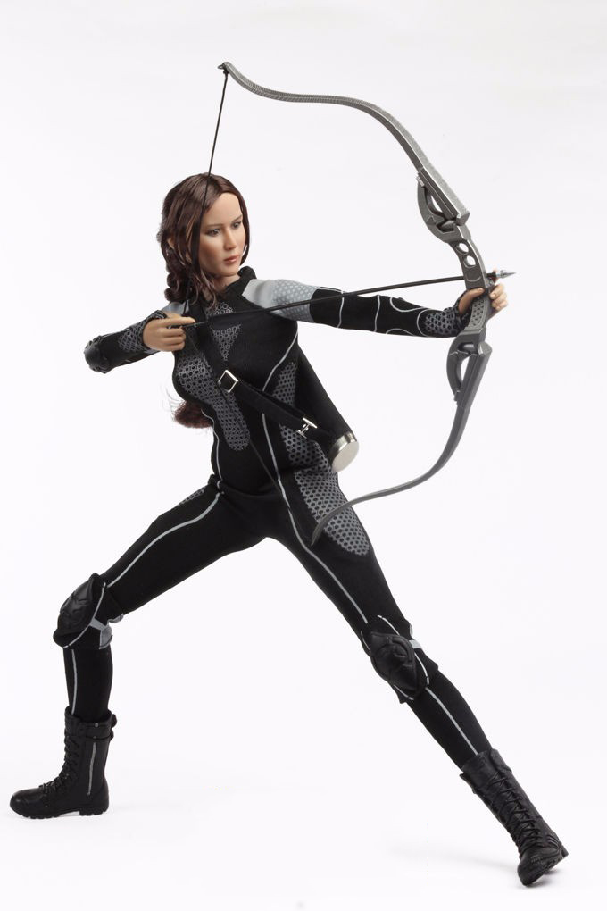 1/6 Athletic Girls Hunger Games Kate Nice Jennifer Lawrence Full Set Action Figure Doll Model Toys Collections сумка kate spade new york wkru2816 kate spade hanna