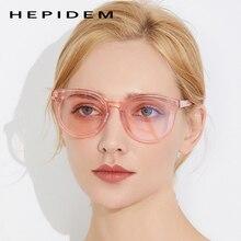 Acetate Sunglasses Women High Quality Brand Designer Cat Eye Oversize Korean Kurt Cobain Sun Glasses for Women Nylon Mirror Lens