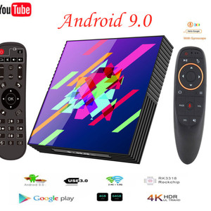 Smart TV Box Android 9.0 4GB R