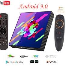 Smart TV Box Android 9.0 4GB RAM 64GB Rom Rockchip RK3318 A9