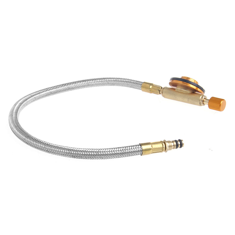 Image 4 - Stove Gas Fuel Pipe Tube For Outdoor Burners Connecting Pipe Regulating Valves-in Outdoor Stoves from Sports & Entertainment