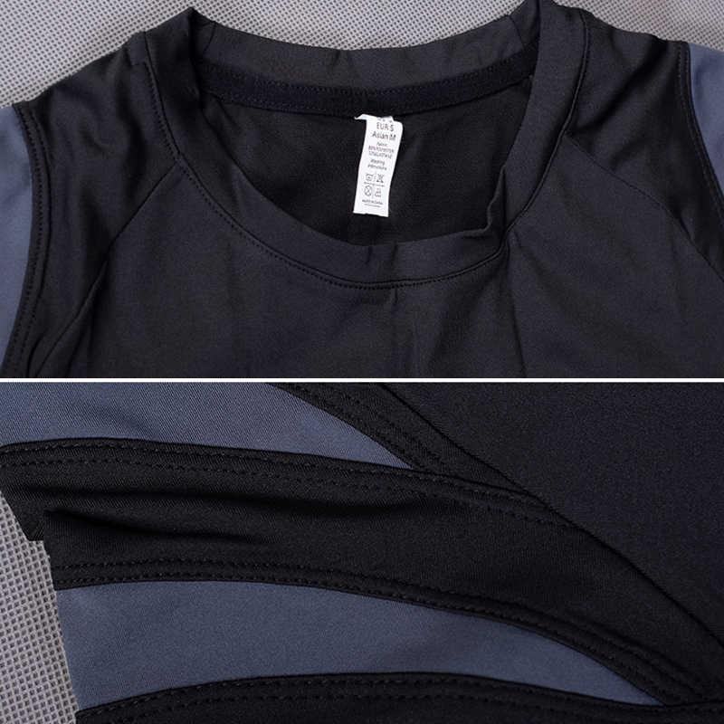 Cepat Kering Lengan Pendek Pria Menjalankan T Shirts Baru Olahraga Kebugaran Gym Latihan Binaraga Top Tee Baju Olahraga Kaos