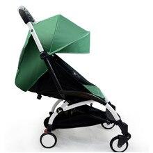 175 degree BABY Stroller Canopy BIG HOOD WATERPROOF OXFORD Peekaboo Canopy Not include stroller