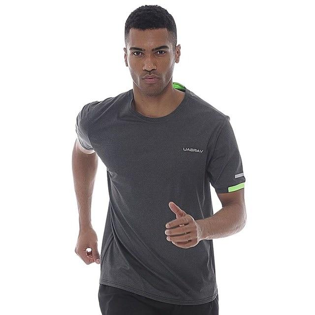 Corta Deportes Los Hombres Respirables Manga De Camisetas 4qgtgzwaW