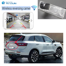 YESSUN wireless Rear View Camera For Renault koleos I 2016  CCD Night Vision backup camera Reverse Camera License Plate camera 4g kids smart watch gps lbs tracker sos child wifi hd remote camera smart watch compatible ios