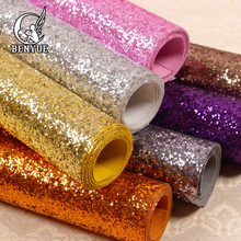 Chunky Glitter Wallpaper  Home Decor Solid Wallcovering High quality sparkly wallpaper For Salo Colorful Glitter Wrapping Paper colored vintage velvet flocking damask wallpaper french renaissance decor wallcovering