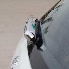 Rear wiper ABS Chrome Decoration cover trim 1pcs for Peugeot 2008 accessoires