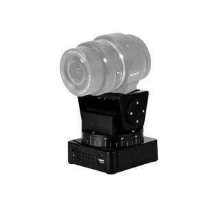 Image 4 - Zifon 전동 원격 제어 팬 틸트 헤드 YT 260 (삼각대 장착 어댑터 포함) 익스트림 카메라 Wifi 카메라 및 스마트 폰용