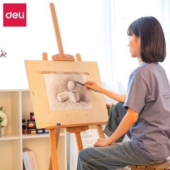 Deli Easel Caballete De Pintura, Caballete para Pintura al óleo, soporte De...