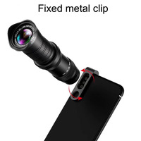 18 30X Adjustable Zoom Lens Kit 4 in 1 Tripod Telephoto 18 30X Wide Angle Lens For Smartphone