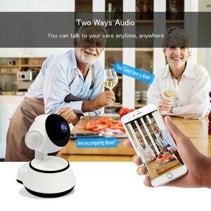 Image 4 - 720P радионяня Wi Fi IP камера Videcam детское Радио Видео няня электронная ПА Домашняя безопасность детская камера ИК для дома детский телефон