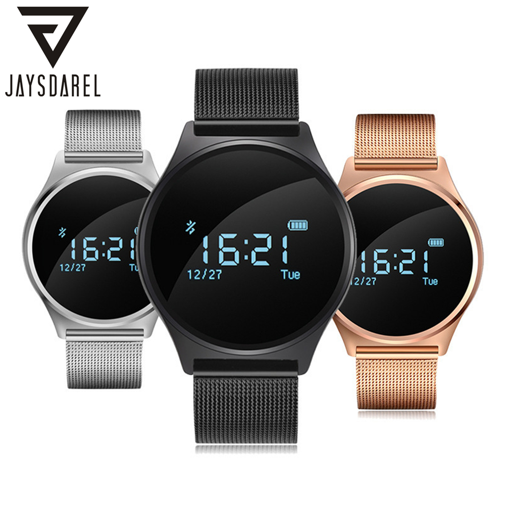 JAYSDAREL M7 Blood Pressure Real-time Heart Rate Monitor Smart Watch OLED Screen Pedometer Smart Wristwatch for Android iOS jaysdarel heart rate blood pressure monitor smart watch no 1 gs8 sim card sms call bluetooth smart wristwatch for android ios