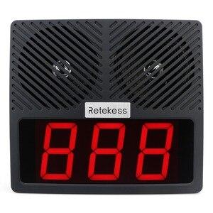 Image 2 - نظام الاستدعاء الذكي للمطاعم Retekess TD101 نظام الاتصال بالباجر النادل للإبلاغ الصوتي لمطعم المقهى البنكي