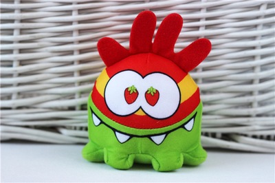 Game Cut The Rope Mini Frog Plush Toy Cute Stuffed Animals Baby Kids Toys for Children Gifts 10cm