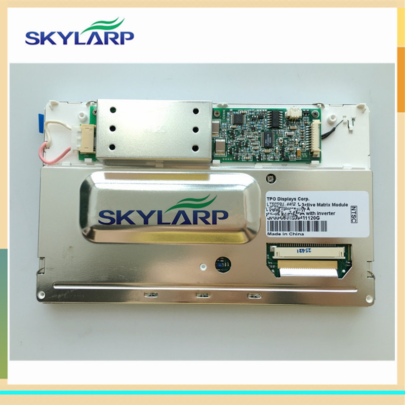 skylarpu 7.2 inch for LTE072T-050-2 LTE072T-050 LTE072T Car GPS navigation LCD display screen panel Replacement (without touch) 7 2 inch lte072t 050 2 lte072t 050 lte072t lcd display screen panel module for car dvd gps navigation system free shipping