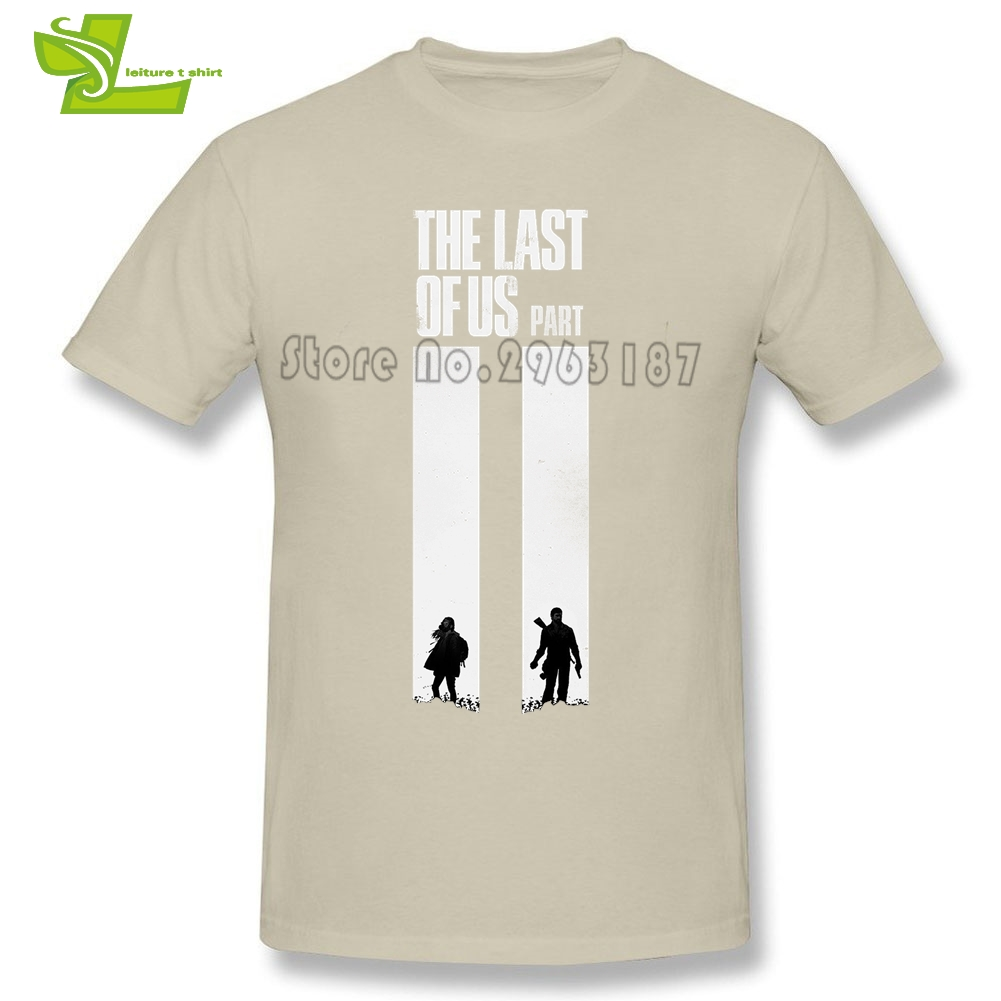 The Last Of Us T Shirt Guys New Simple Tee Shirts Casual Custom Made Comfortable T-Shirts Man Summer O Neck Picture Teenboys Tee