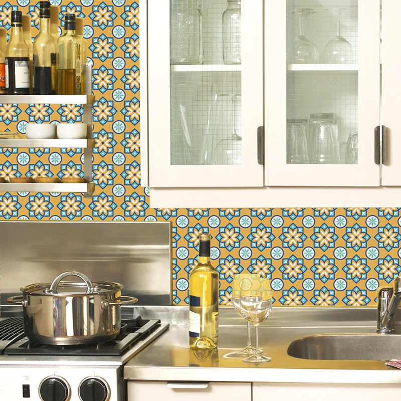 detail feedback questions about % 12pcs/lot retro tiles wall