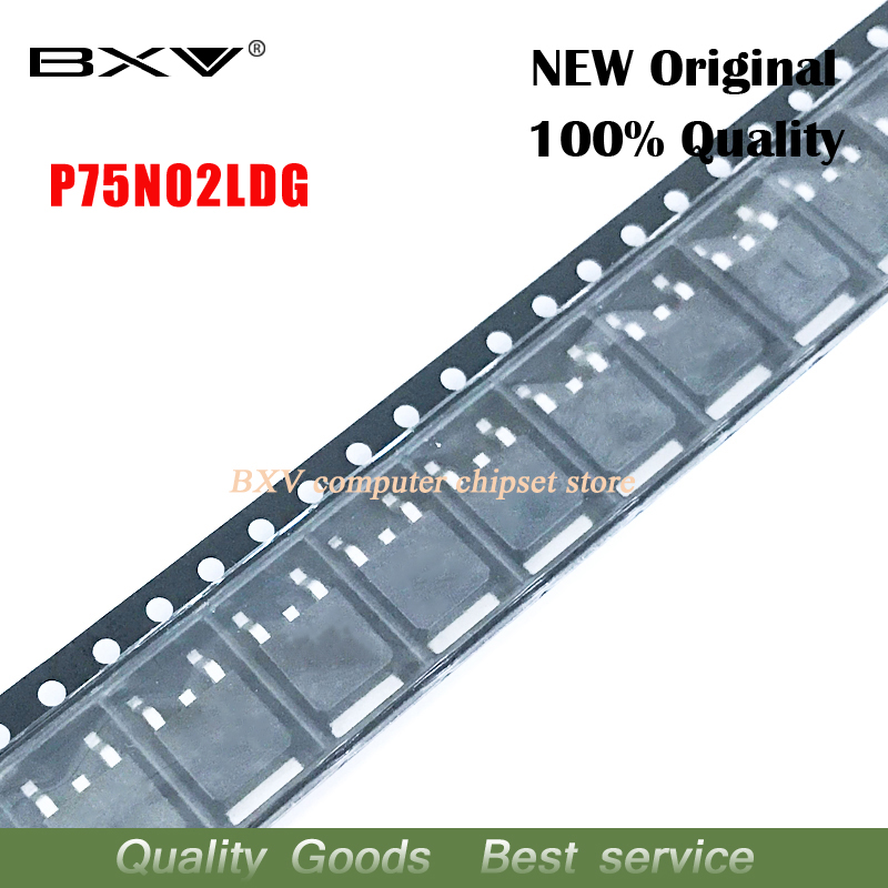10pcs/lot P75N02LDG P75N02 TO-252