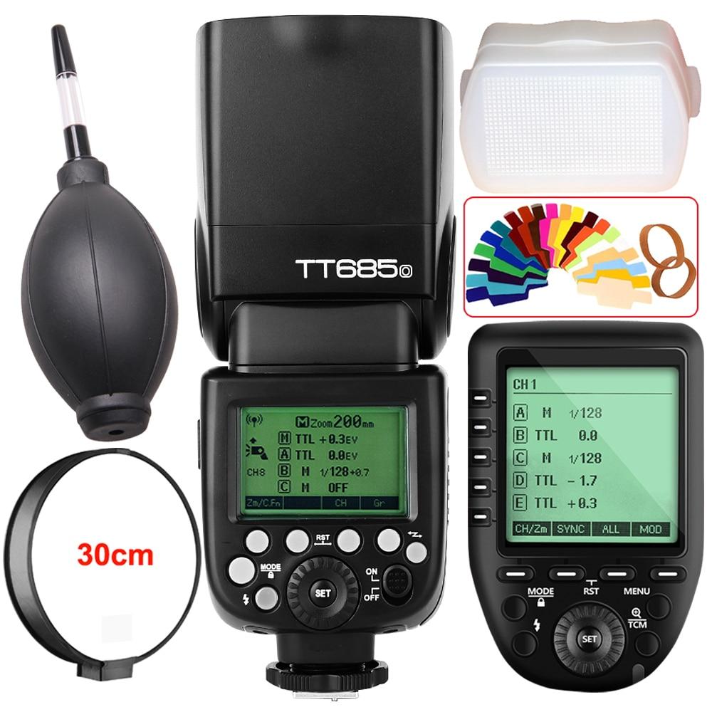 Godox TT685O HSS 1 8000s TTL Camera Flash XPro O TTL Trigger for Olympus E M10II