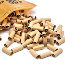 Горячая 150 шт Шершень в рулоне кончики натуральный Prerolled для сигаретной рулонной бумаги 6 мм Papel de cigarro