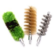 3 шт./компл. трубка насадка для зубных щеток, щетка для чистки набор инструментов для 12GA пистолета кистью инструмент Принадлежности для охоты Профессиональный пистолета набор для чистки