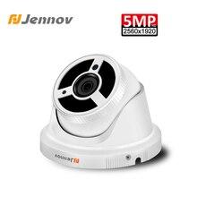 Jennov 5MP H.265 CCTV Камера видео наблюдения домашней безопасности Камера POE сетевой видеорегистратор HD ONVIF IP камеры купола потолок Ночное видение