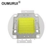5 stücke 50W LED cob chip flutlicht Weiß 6000 k/Warme 3000k High power Lampe 1500-1750mA 32 -34V 4800-5000LM 30mil Freies verschiffen