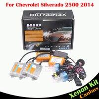 55W Car Light HID Xenon Kit No Error Ballast Bulb AC 12V 3000 8000K Auto Headlight